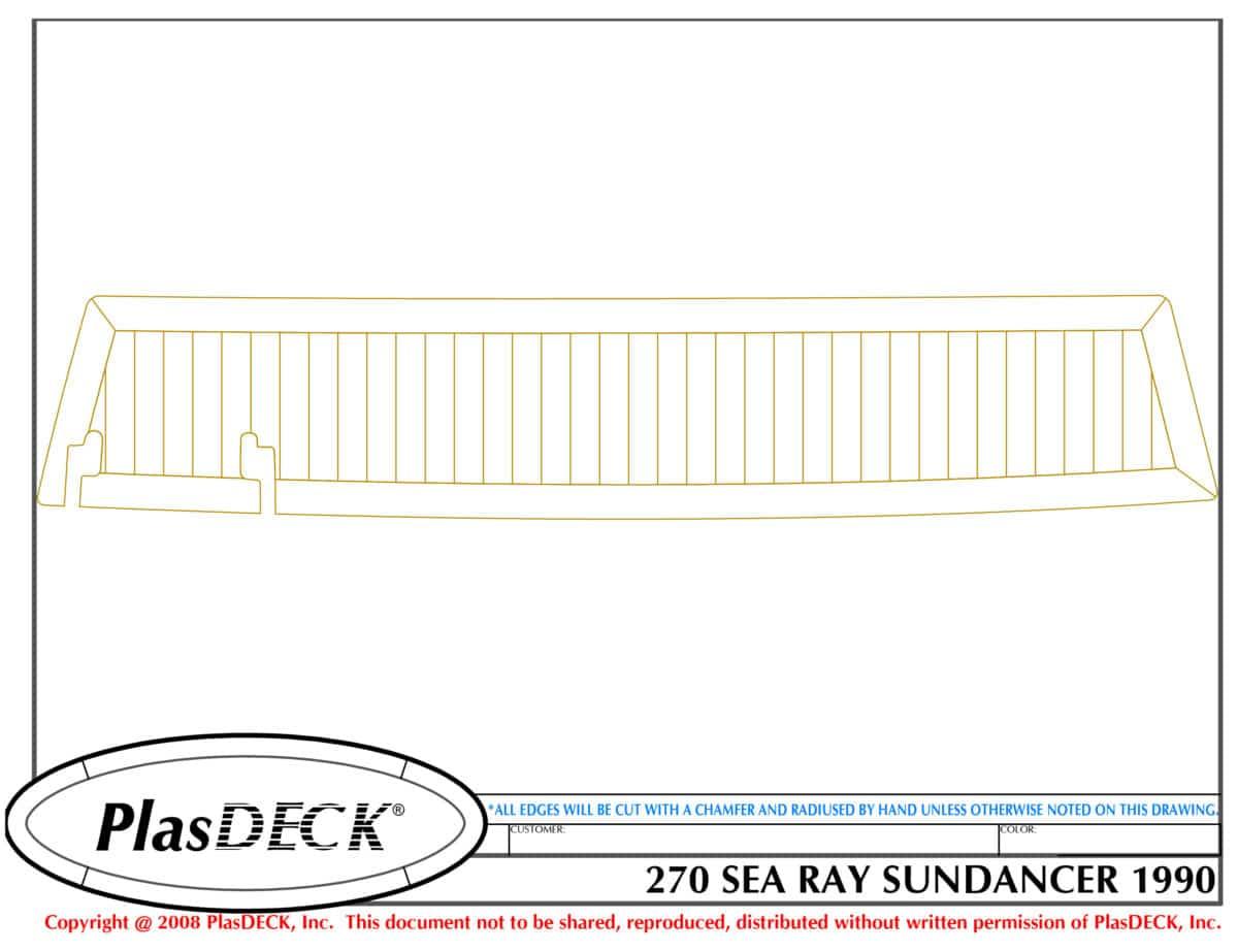 1990 Sea Ray Sundancer Wiring Diagrams Diagram Plasdeck Sedan 1200x923